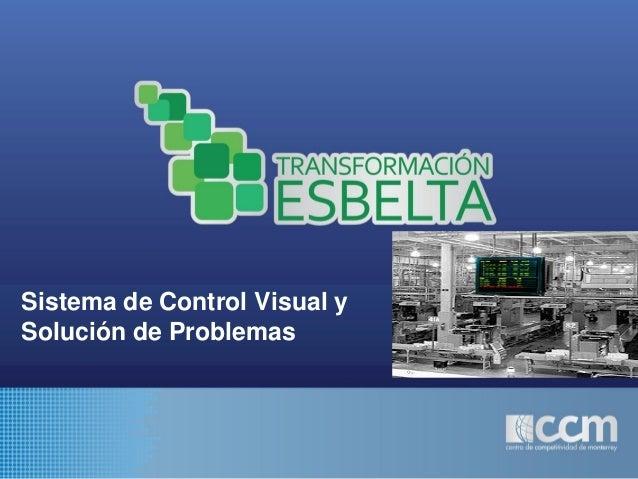 Sistema de Control Visual y Solución de Problemas