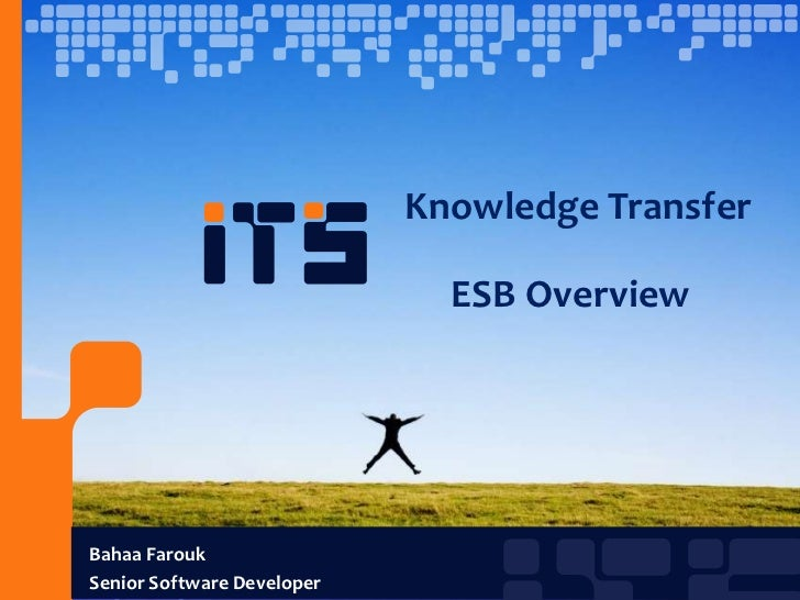 Knowledge Transfer                              ESB OverviewBahaa FaroukSenior Software Developer