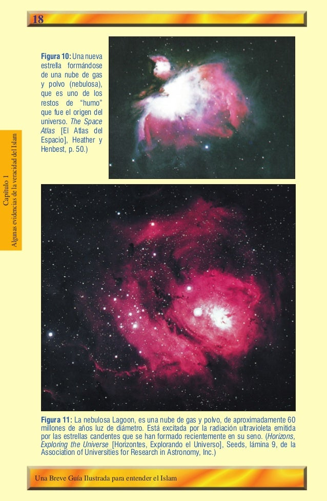 """18  Figura 10: Una nueva estrella formándose de una nube de gas y polvo (nebulosa), que es uno de los restos de """"humo"""" que..."""