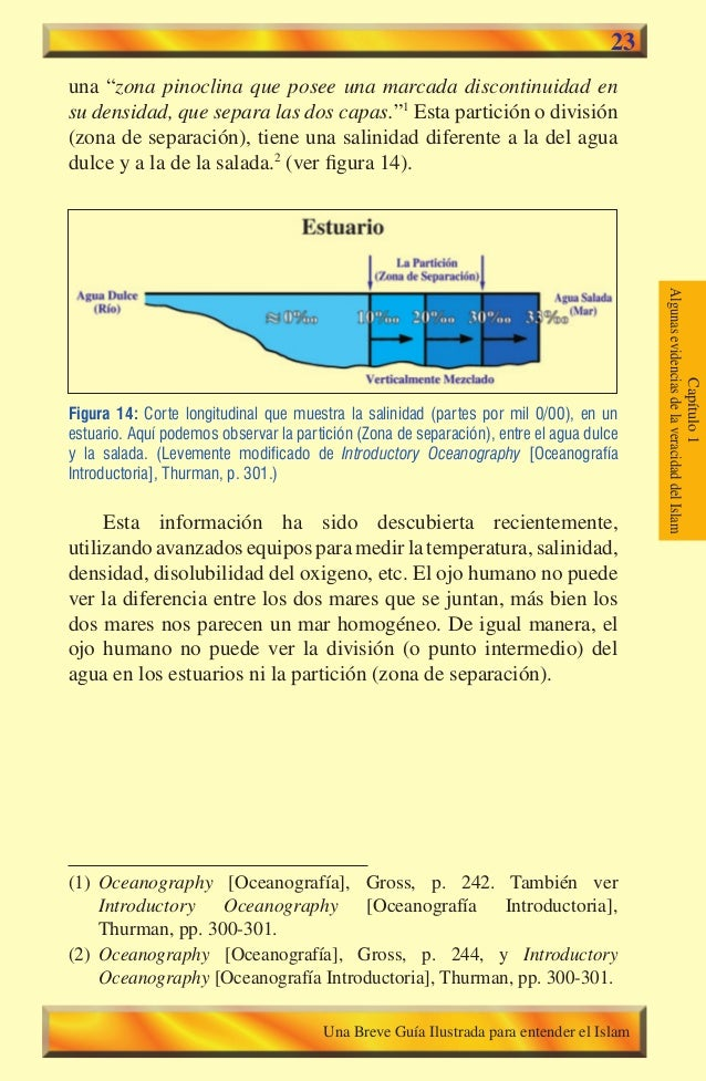 """23  una """"zona pinoclina que posee una marcada discontinuidad en su densidad, que separa las dos capas.""""1 Esta partición o ..."""