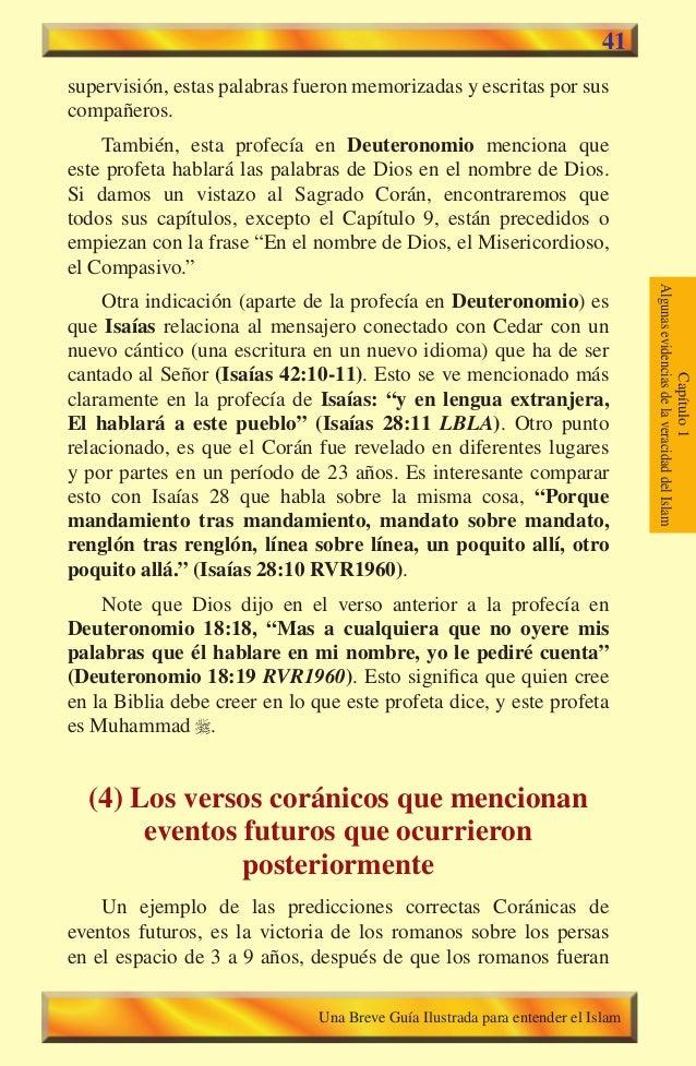 41  supervisión, estas palabras fueron memorizadas y escritas por sus compañeros. También, esta profecía en Deuteronomio m...
