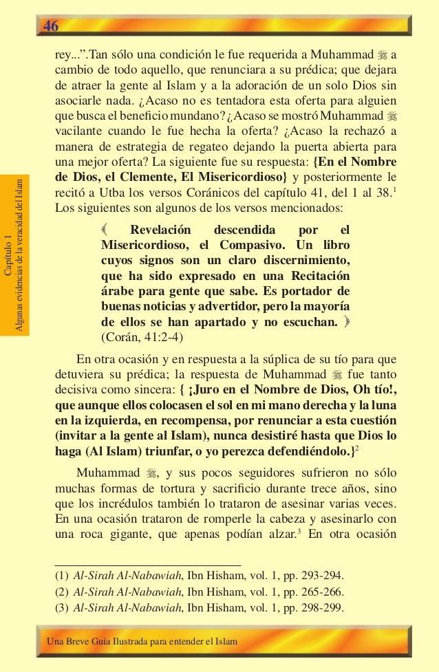 """46  rey..."""".Tan sólo una condición le fue requerida a Muhammad  a cambio de todo aquello, que renunciara a su prédica; qu..."""