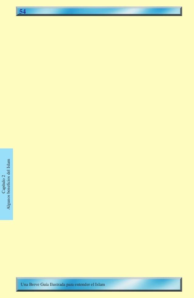 54  Capítulo2  AlgunosbeneficiosdelIslam  Una Breve Guía Ilustrada para entender el Islam