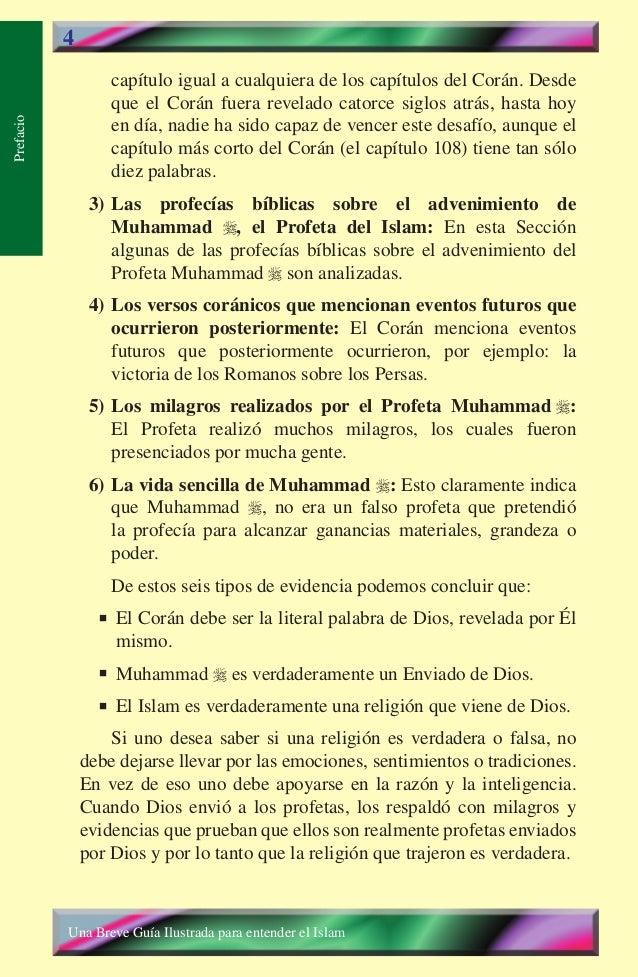 4  capítulo igual a cualquiera de los capítulos del Corán. Desde que el Corán fuera revelado catorce siglos atrás, hasta h...