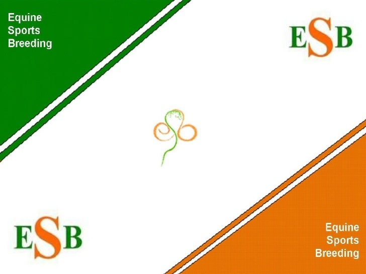Equine Sports Breeding (ESB)     Creating a legacy and a future for           the sport of eventing.