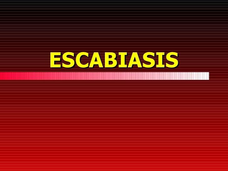 ESCABIASIS