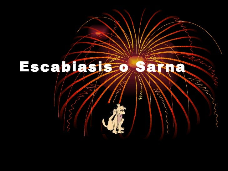 Escabiasis o Sarna