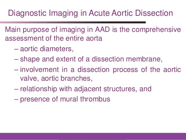 Esc aortic diseases pptx new skd for Aortic mural thrombus treatment