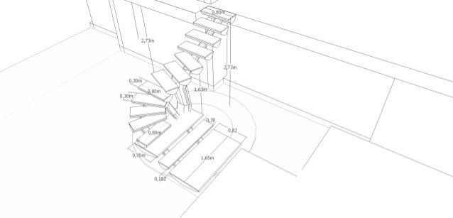 Escada pré executivo