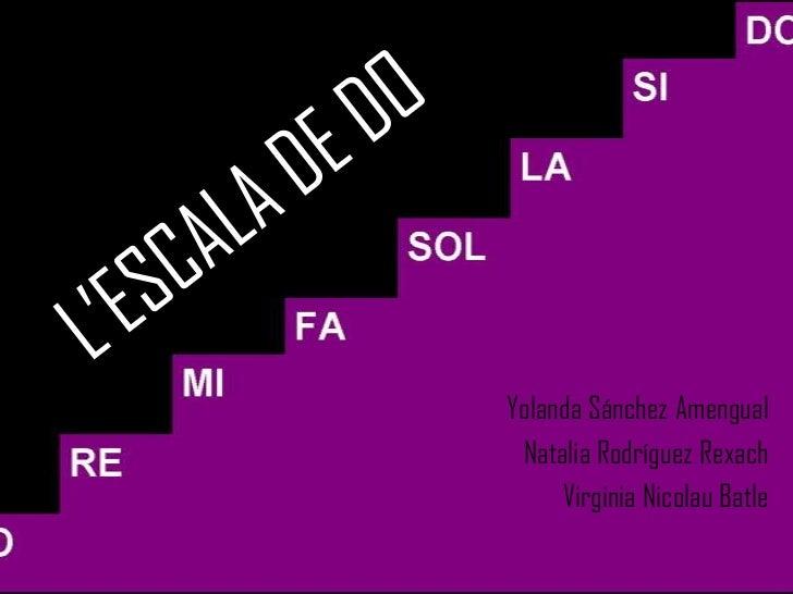 Yolanda Sánchez Amengual Natalia Rodríguez Rexach     Virginia Nicolau Batle
