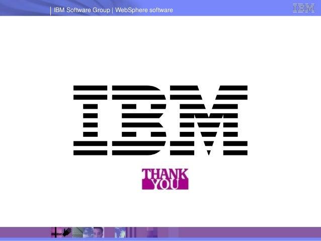 IBM Software Group   WebSphere software