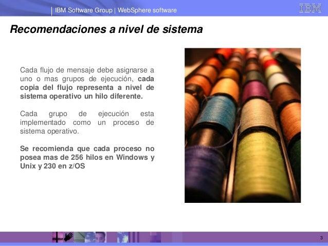 IBM Message Broker Escalar flujos Slide 3
