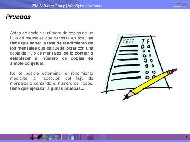 IBM Software Group   WebSphere softwarePruebas Antes de decidir el número de copias de un flujo de mensajes que necesita e...