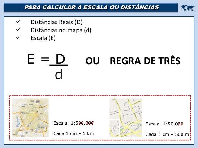 como calcular a escala dum mapa Escalas cartogrficas 2 como calcular a escala dum mapa