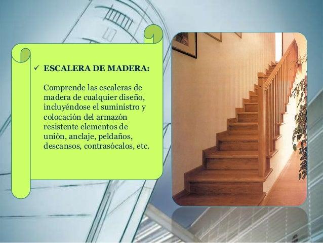 Escaleras proceso constructivo for Como hacer una escalera de madera con descanso