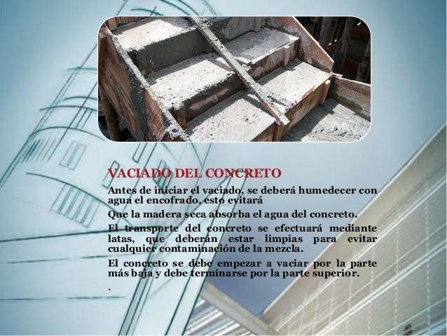 Escaleras proceso constructivo for Como hacer una escalera en concreto