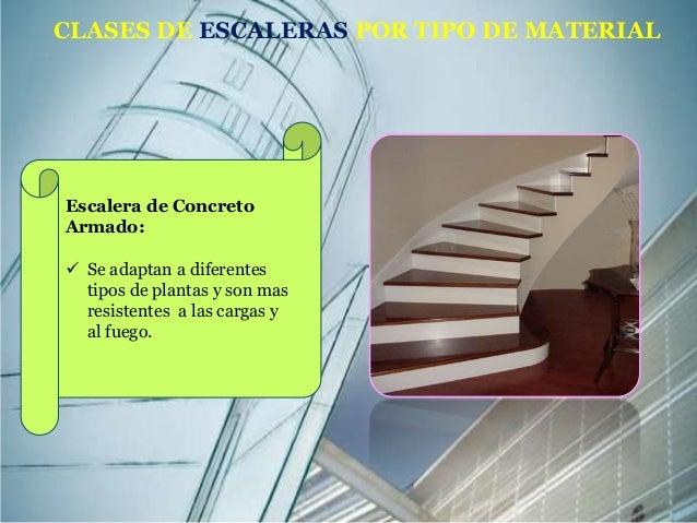 Escaleras proceso constructivo for Clases de escaleras