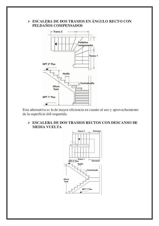 Escaleras for Escaleras de madera de dos tramos