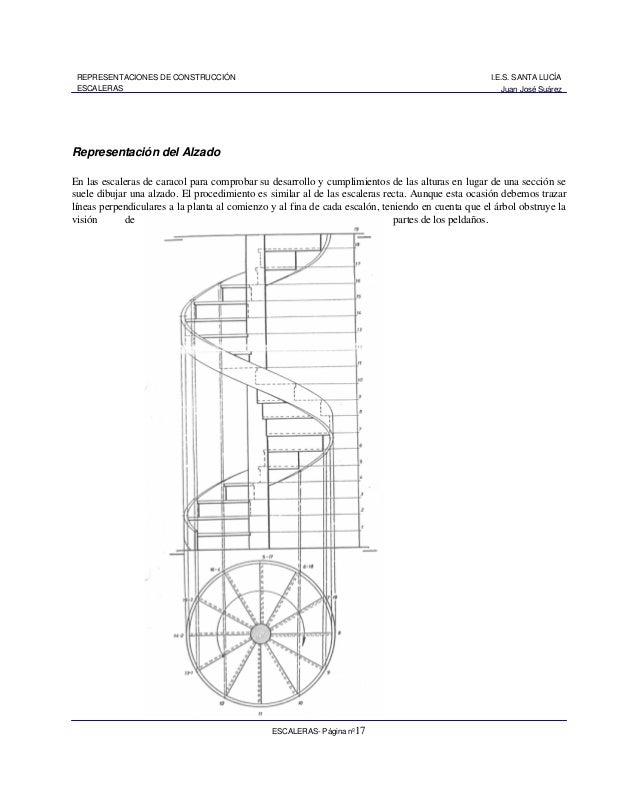 Escaleras 1 for Como trazar una escalera de caracol de concreto