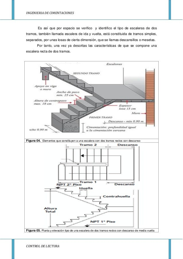 Escaleras amira for Planos de escaleras de concreto armado