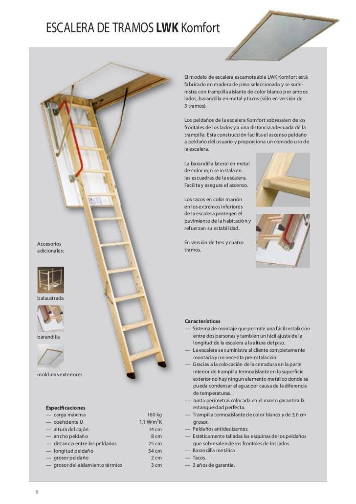 Escaleras escamoteables fakro for Escalera escamoteable