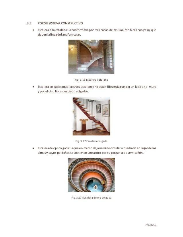 Escaleras monografia