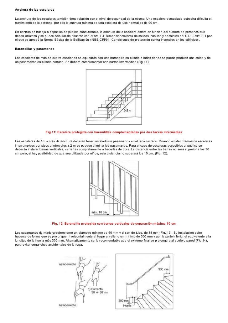 normativa de escaleras ideas de disenos