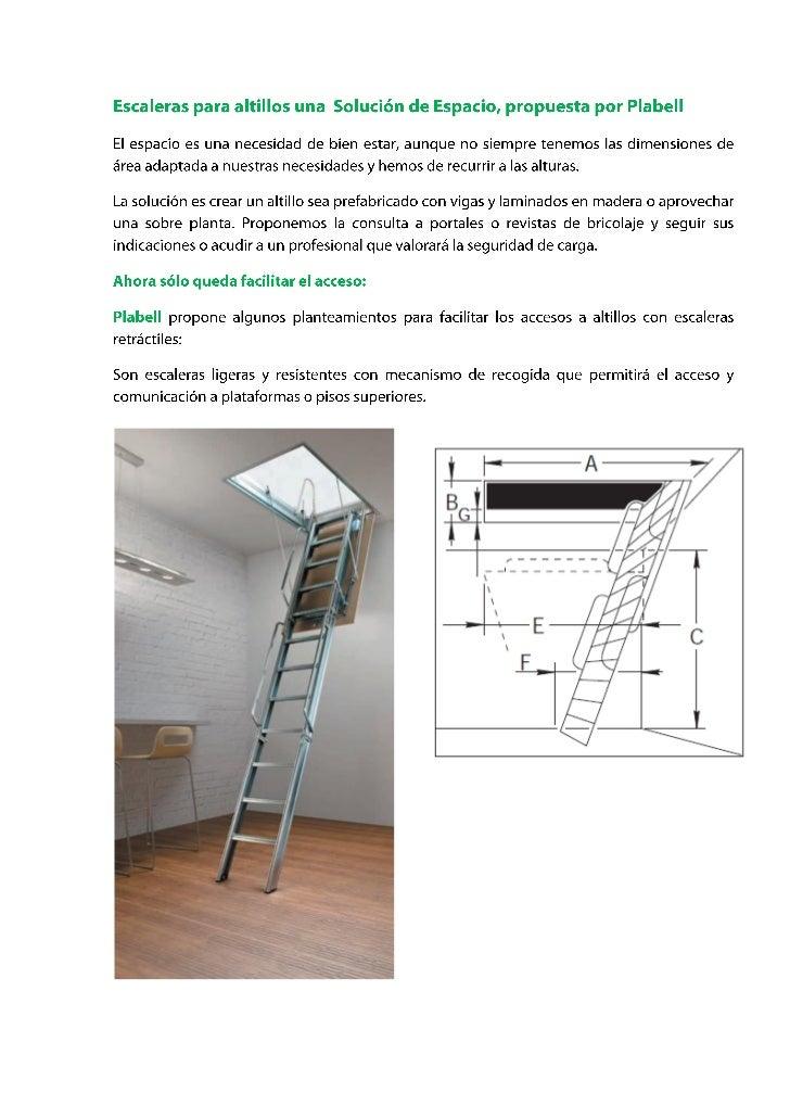 Escaleras para altillos una soluci n de espacio - Escaleras para espacios reducidos ...