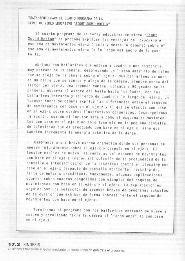TMTAMIENTO PAM EL CUARTO PROGRAMA DE LA                SERIE DE VIDEO EDUCATIVO -S]GHT SOUND MOTION                      E...