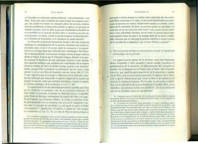 62 El ser ec/esial y el hombre se relaciona sustancialmente -necesariamente- con Dios. Todo esto, que resultaba tan natura...