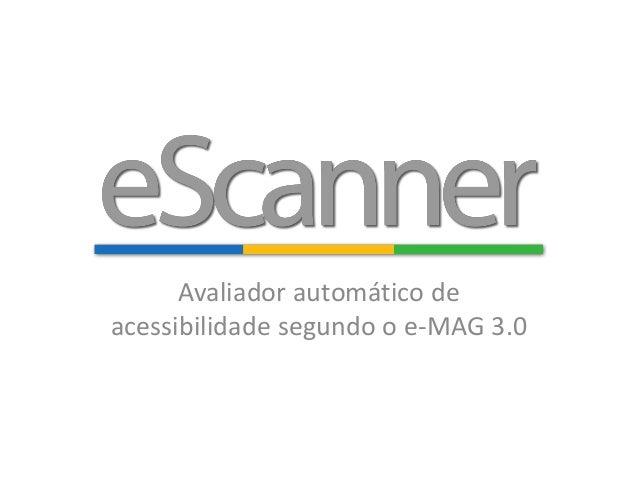 Avaliador automático de acessibilidade segundo o e-MAG 3.0