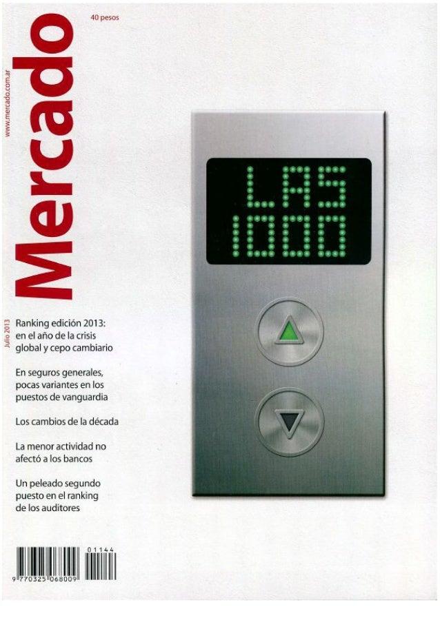 Revista Mercado   julio 2013