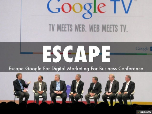 Escape From Google for DMFB