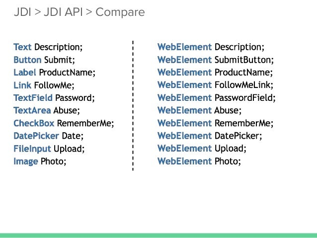 Escape from the automation hell jdi jdi api compare malvernweather Images