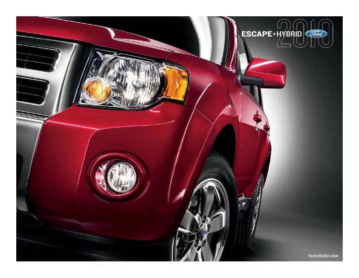 ESCAPE+HYBRID                     fordvehicles.com