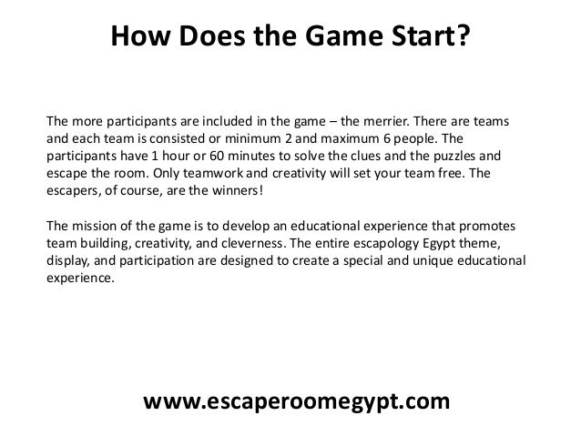 How Does the Game Start? The more participants are included in the game – the merrier. There are teams and each team is co...