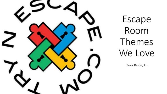 Escape Room Boca Raton >> Escape Room Themes We Love Try N Escape Boca Raton Fl