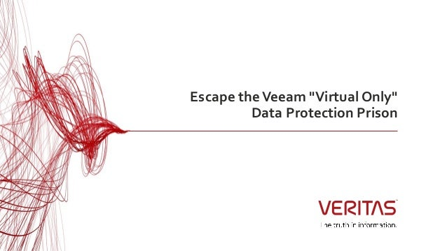 Escape the veeam 'virtual only' data protection prison