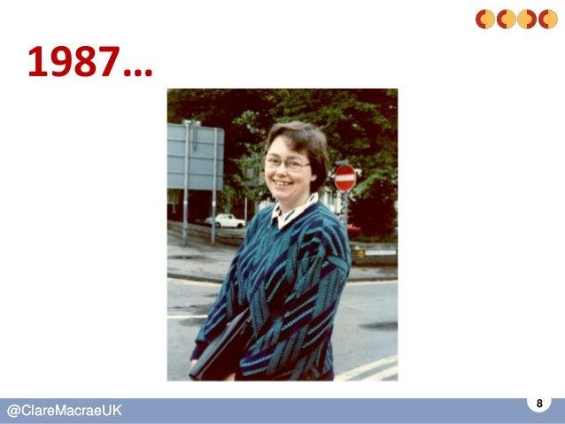 8 @ClareMacraeUK@ClareMacraeUK 1987…