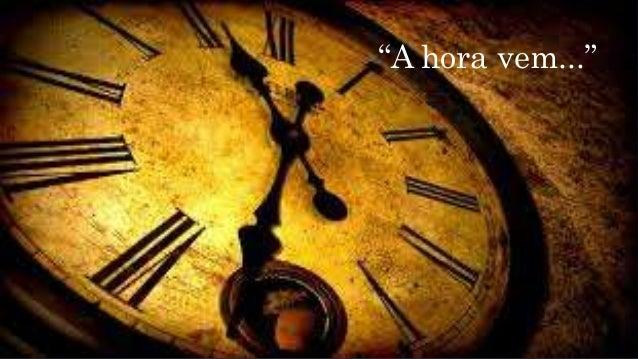 """ESCATOLOGIA (O QUE SERÁ OU O QUE É O MILÊNIO?) """"A hora vem..."""""""