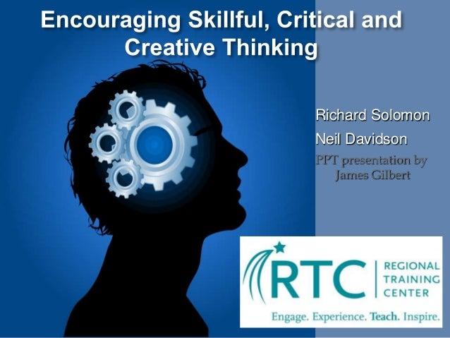 Richard Solomon Neil Davidson PPT presentation by James Gilbert