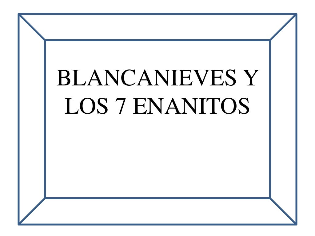 Escenas C Uento Bjancanieves Para Colorear