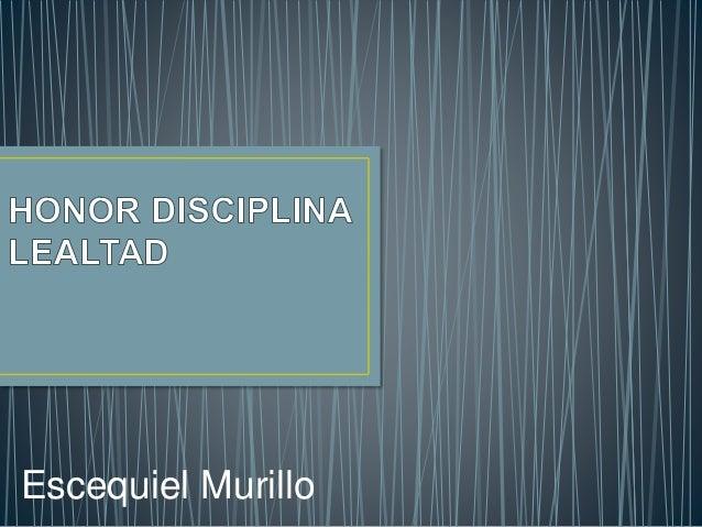 Escequiel Murillo