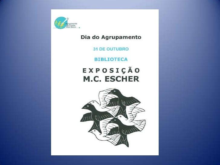 M.C. Escher - A arte matemática