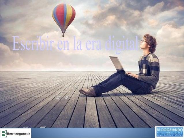 ALGUNAS PREGUNTAS EN TORNO A LA ESCRITURA EN EL SIGLO XXI  •¿Qué es escribir? •¿Cómo se aprende/enseña a escribir? •¿Qué e...