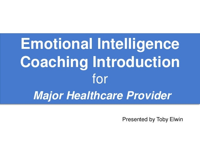 introduction to emotional intelligence pdf
