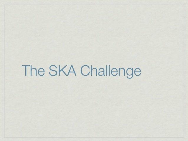 The SKAChallenge