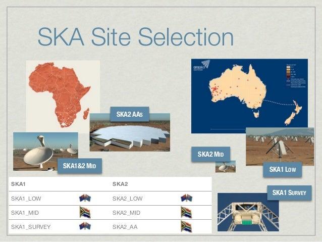 SKA Site Selection                            SKA2 AAS                                             SKA2 MID              S...