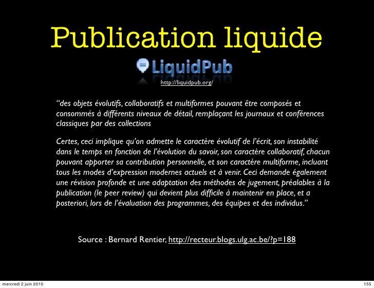 Publication liquide                                                        http://liquidpub.org/                          ...