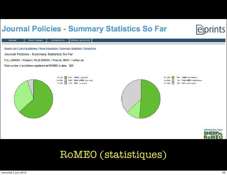RoMEO (statistiques) mercredi 2 juin 2010                          49